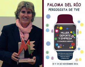 Paloma del Río - Congreso Iberico, Mujer Deporte y Empresa 2016