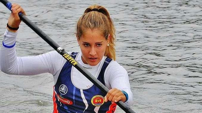 Piraguista Estefania Fernandez inicia ciclo olimpico en Badajoz