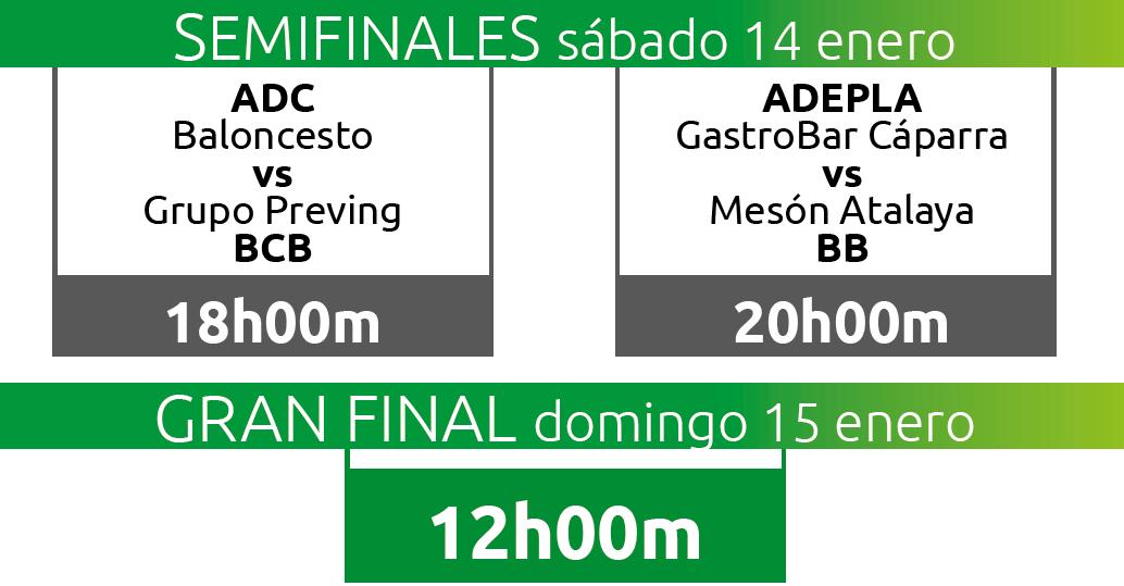 Cuadro Final de la Copa de Extremadura