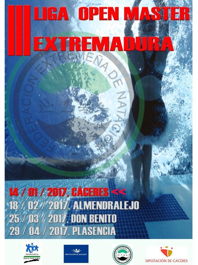 El C.N. Moralo en la Primera Jornada Liga Máster Extremadura de Natación