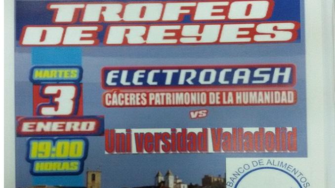 El equipo de voleibol ELECTROCASH EXTREMADURA CCPH disputará mañana el Trofeo de Reyes Copa Electrocash en el Pabellón Multiusos de Cáceres