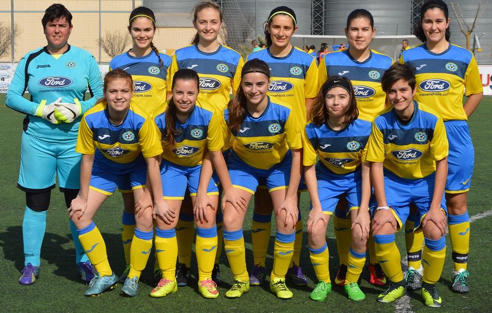 Equipo Primera División Extremeña Femenina