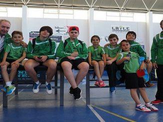 Cuatro medallas en el Top 8 Escolar para el Tenis de Mesa Almaraz