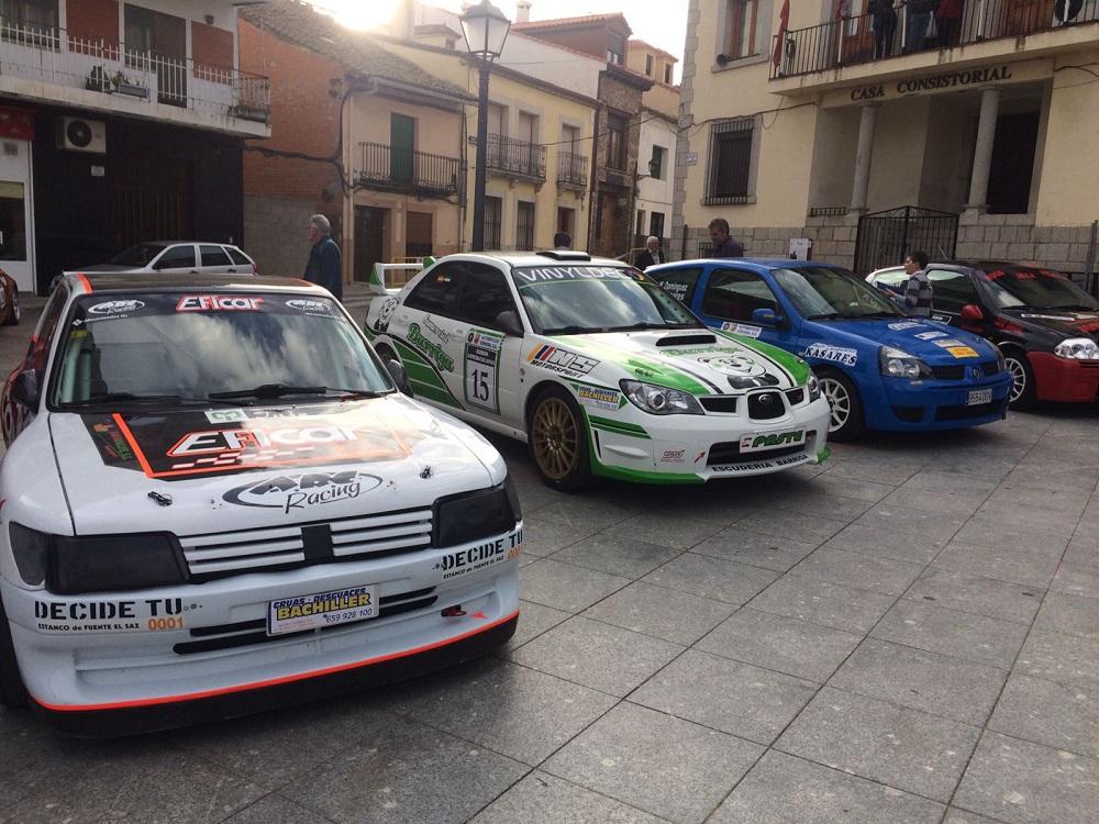 Jesús Alberto Barriga Valencia tercero en la categoría de turismos en el la I Subida Arrebatacapas en Cebreros