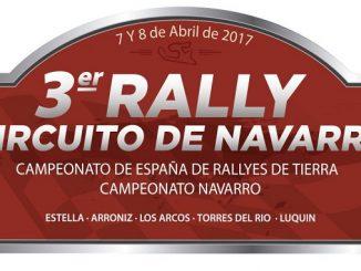 Segunda cita de la Copa Kobe Motor para el Extremadura Rallye Team - III Rally Circuito de Navarra