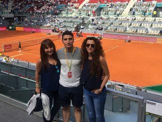 Javier Collado, Nadal, Djokovic y compañía en el Mutua Open Madrid