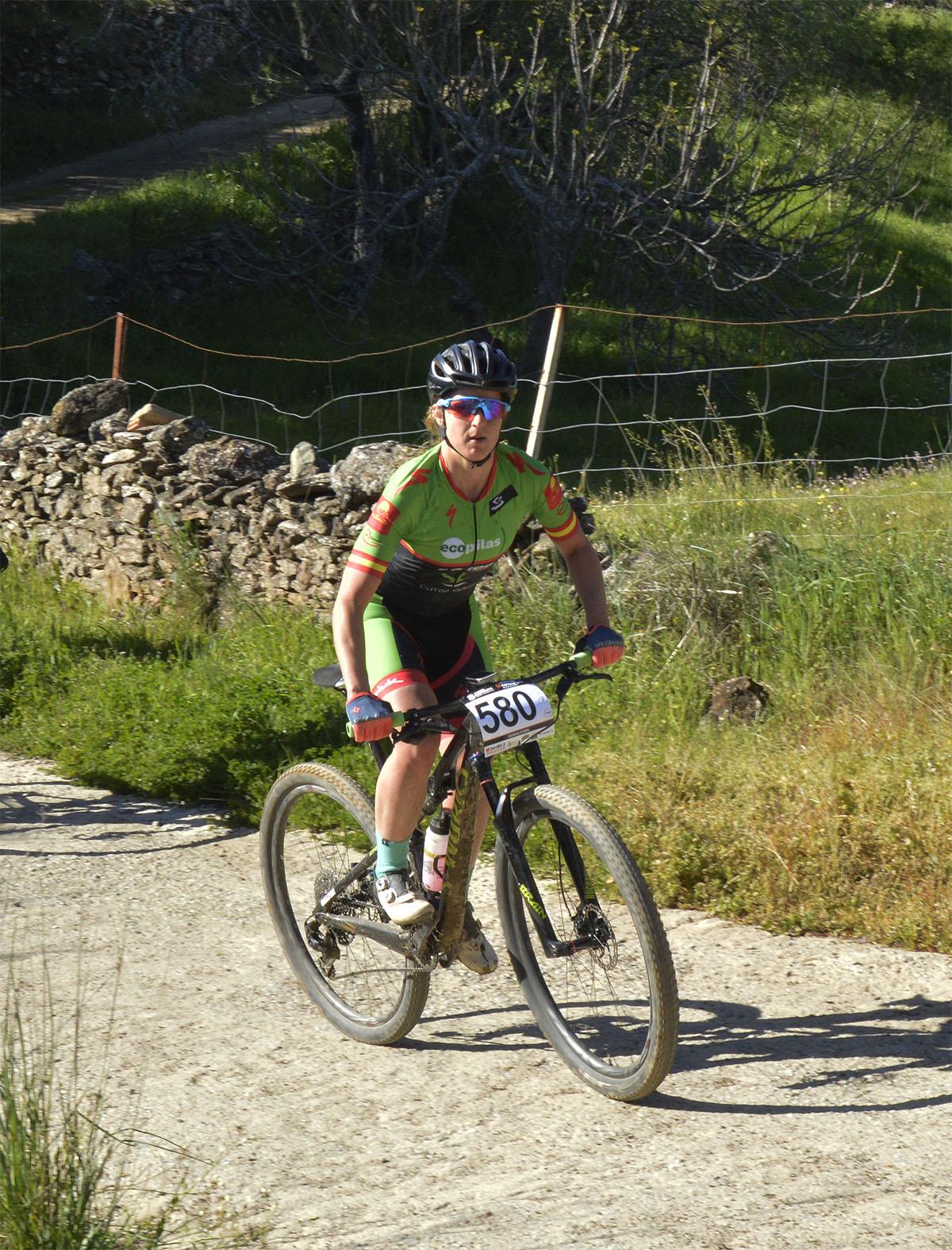 Rocío Martín del Extremadura Ecopilas en la Vuelta Andalucía MTB