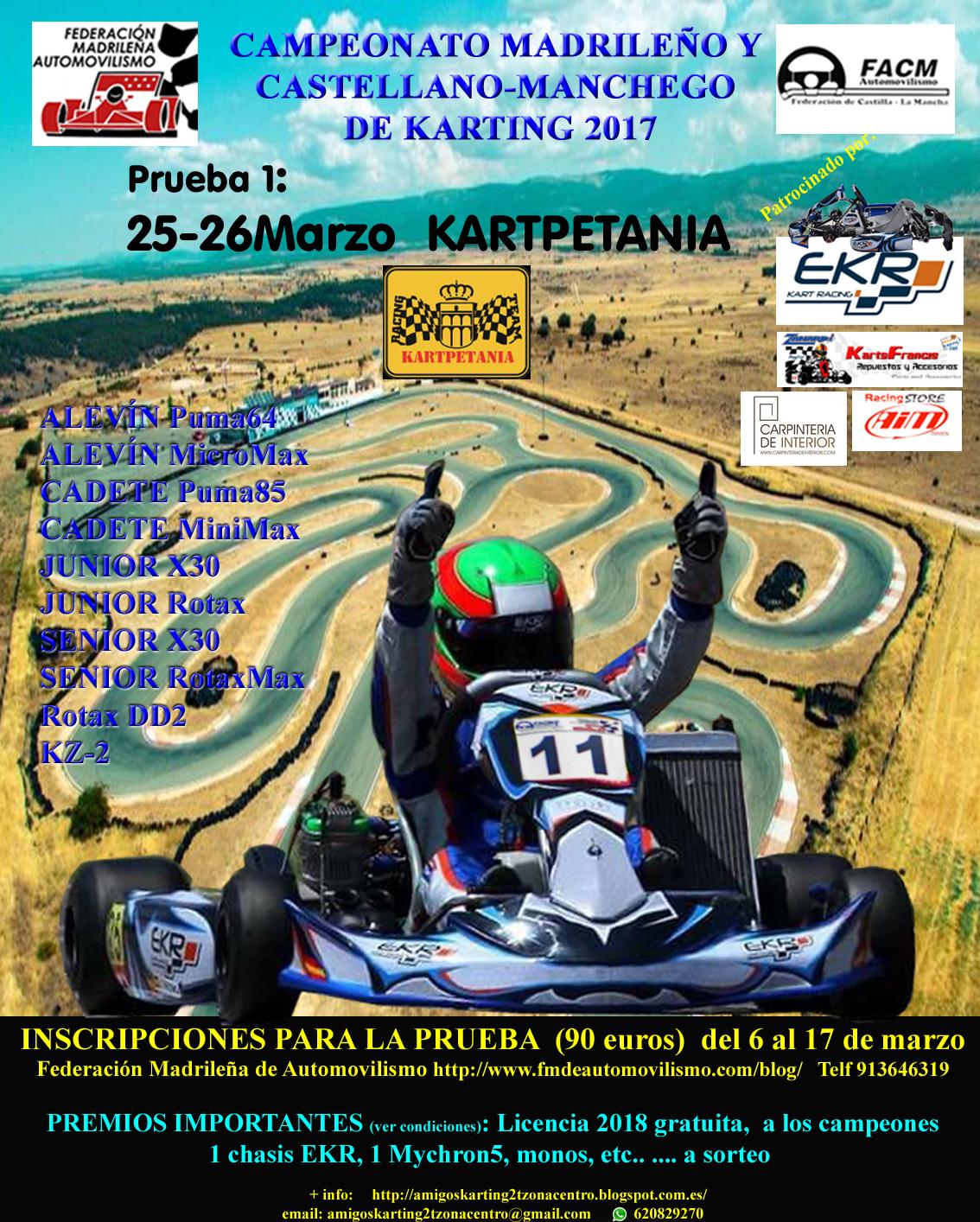 Campeonato de Karting Madrileño y Castellano-Manchego