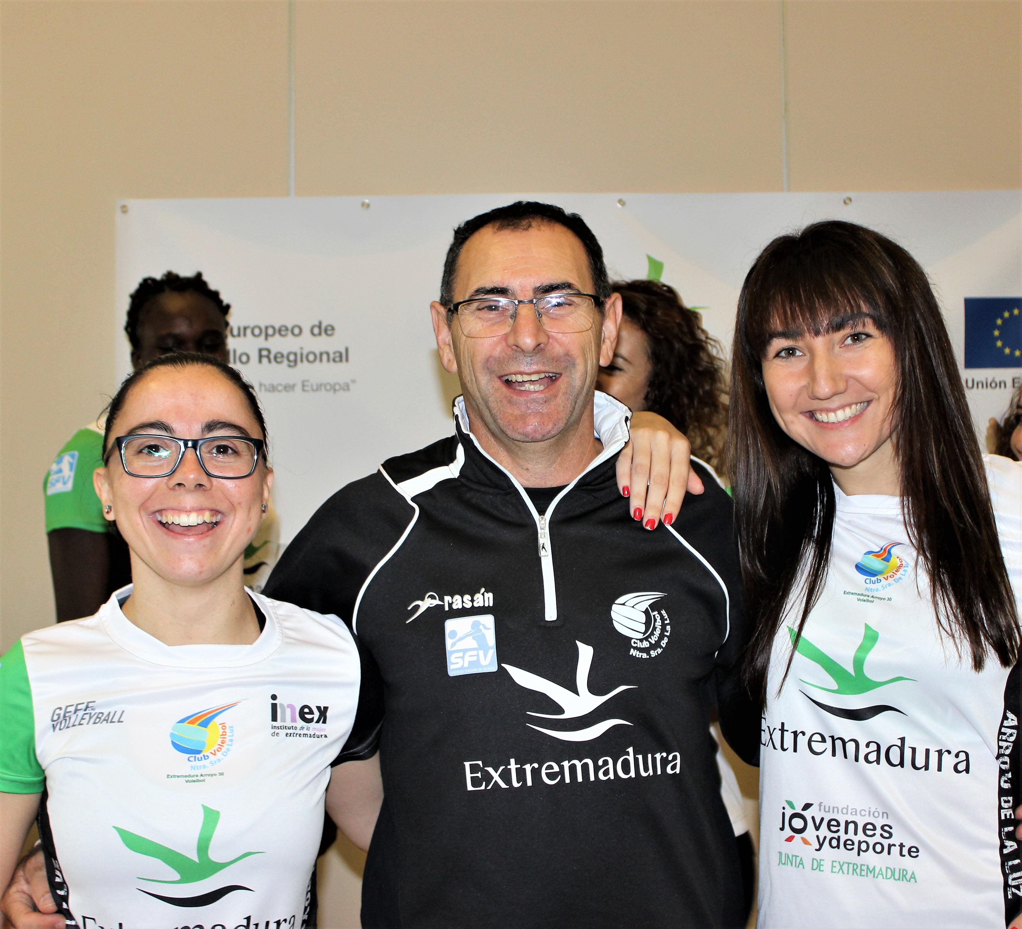 Equipo Técnico de la I Jornada de Tecnificación para el Alto Rendimiento en el Voleibol