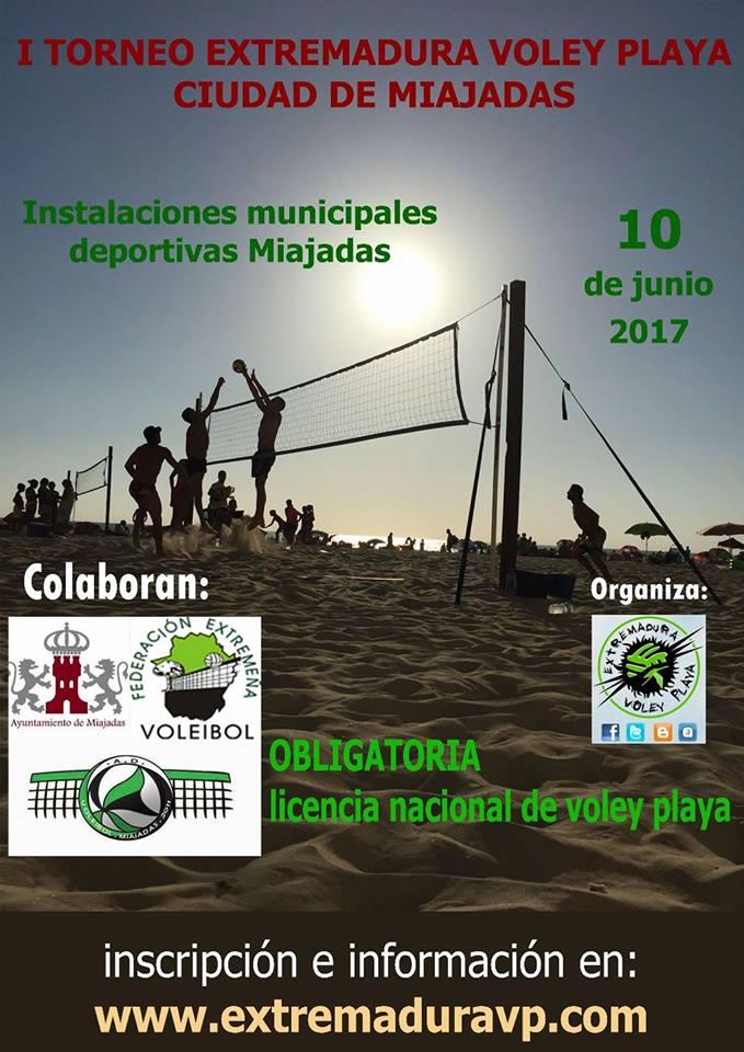 I Torneo Extremadura Voley Playa Ciudad de Miajadas