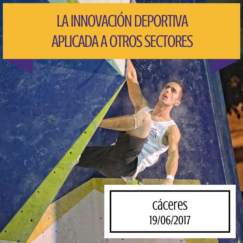 """Javier Cano - Cáceres acoge la jornada """"La innovación deportiva aplicada a otros sectores"""""""