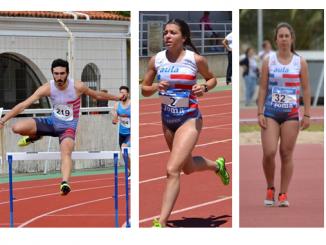 Cinco Atletas del Capex en el Campeonato absoluto de Madrid