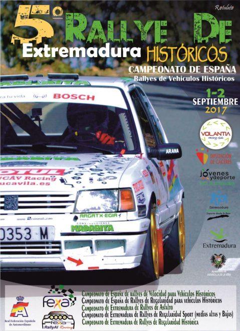 V Extremadura Rallye Histórico