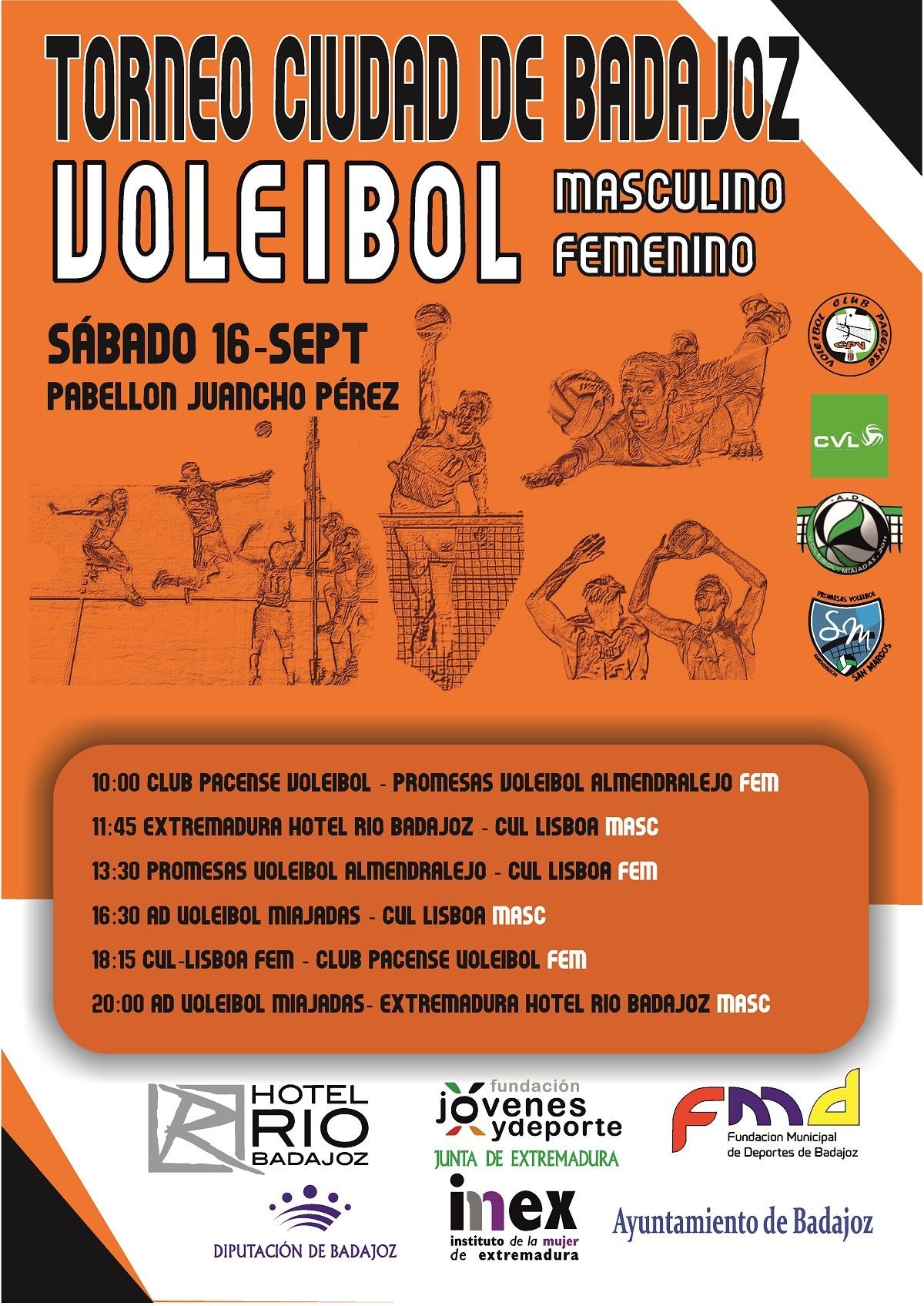 Torneo Ciudad de Badajoz Voleibol 2017