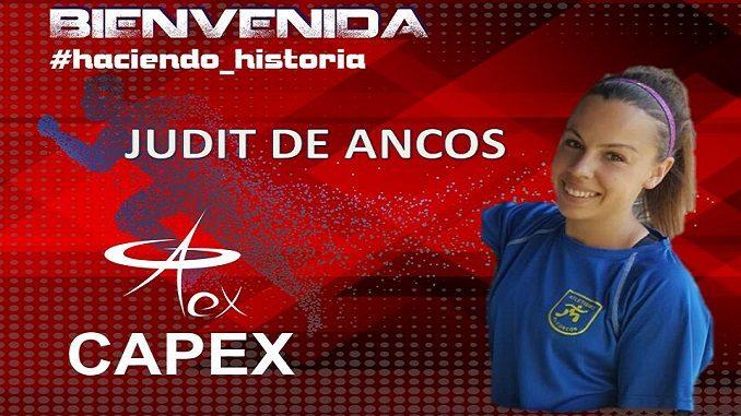 Judit de Ancos nueva incorporación del CAPEX
