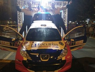 EduardoNoriego y Daniel Canelo repiten triunfo en el Rallye de la Vendimia
