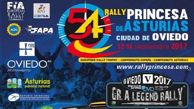 Paco Montes participa en el 54 Rally Princesa de Asturias Ciudad de Oviedo