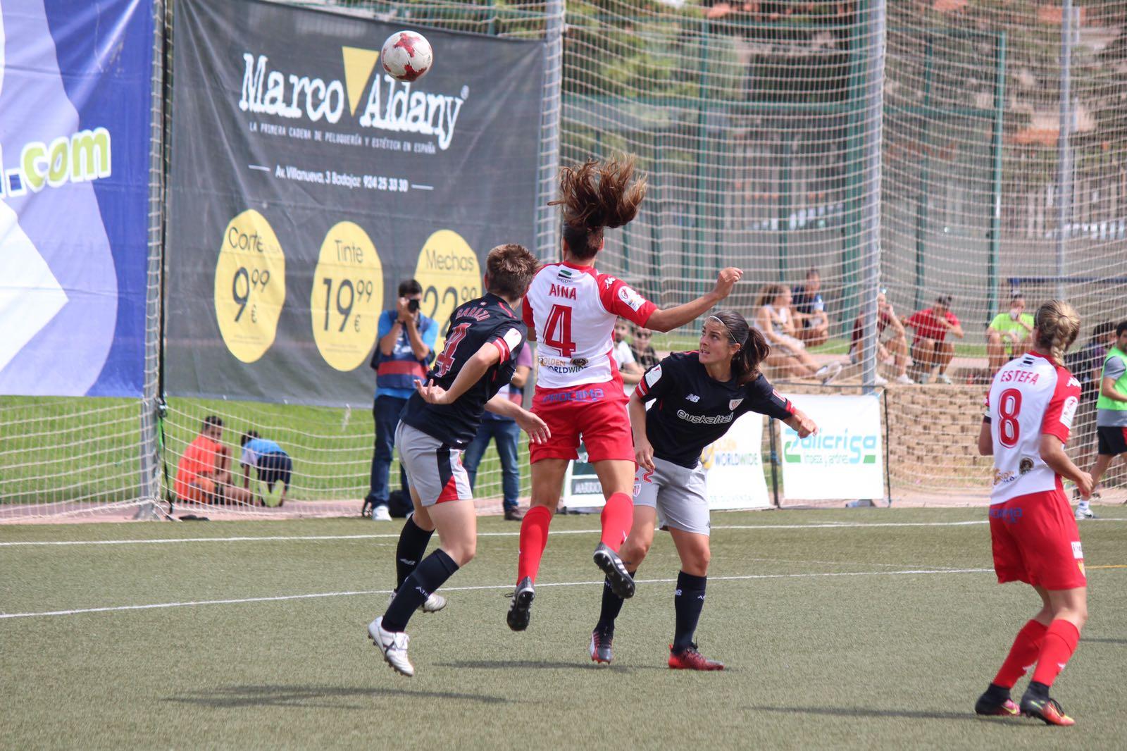 Un Santa Teresa Badajoz superior cae por la mínima en el debut ante Athletic Club (1)