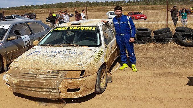 Victoria de Jonathan Vázquez en el XXIII Autocross Feria de San Miguel Zafra