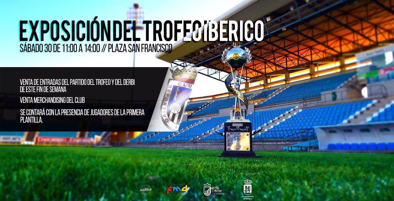 exposición, venta de entradas, visita de jugadores Trofeo Ibérico