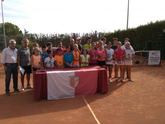 Copa Máster organizada por la Fext y disputada en el Club de Tenis Cabezarrubia