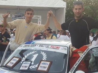 Sebastián y Cristóbal se hacen con la Copa Fexa RallyAl Racing