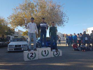 Vázquez se lleva la victoria y el campeonato de su clase en Malpartida de Plasencia