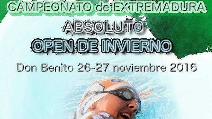 Campeonato de Extremadura Absoluto OPEN DE INVIERNO en Don Benito