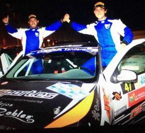 Victoria para Pérez y Espino en la Dacia Sandero Cup del 22 Rally Mediterráneo - La Nucía