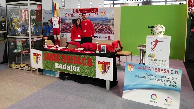El Santa Teresa CD participa en Iberocio en una Navidad de Primera