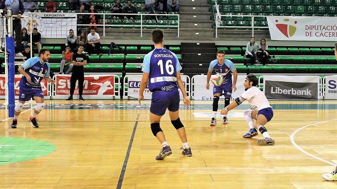 Último partido como local del Electrocash Extremadura en Superliga 1
