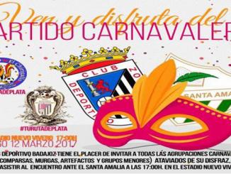 El domingo se celebra el sexto partido carnavalero