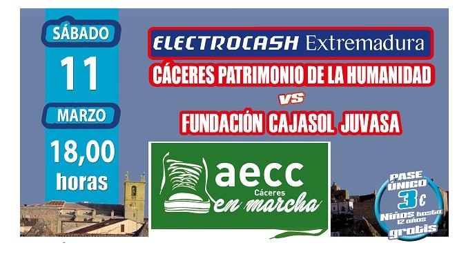Extremadura jugará a favor de la lucha contra el cáncer