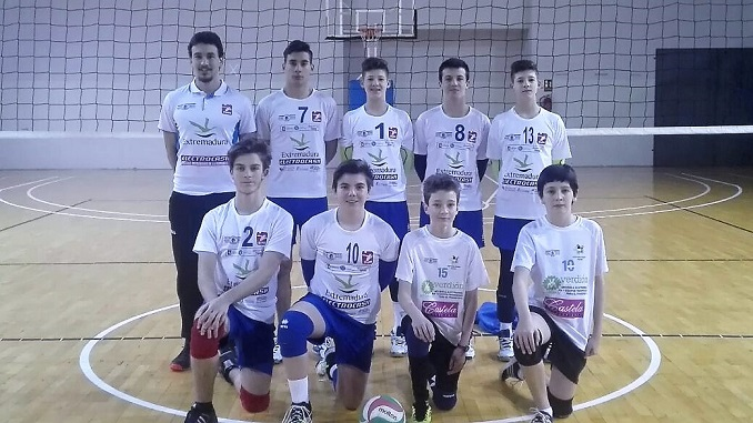Cadete disputan campeonato Extremadura en Jaraíz de la Vera