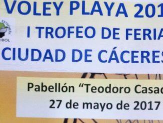 I Trofeo de Ferias Cáceres 2017 de Voley Playa