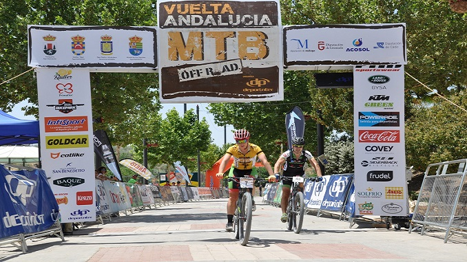 Rocío Martín Vuelta Andalucía MTB