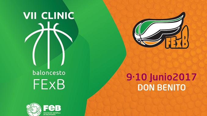 Don Benito acogerá el VII Clinic Extremadura de Baloncesto