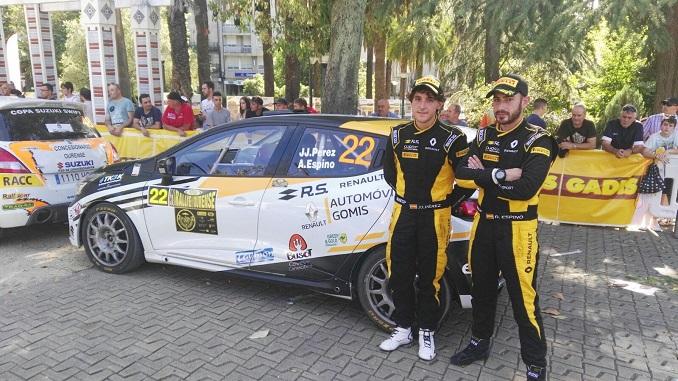 Gran actuación extremeña en el Rallye de Ourense