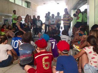 Deporte e integración en las jornadas del CEIP Nuestra Señora de Bótoa + Partido en Campo Maior