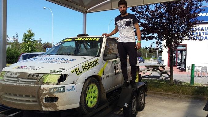 Jonathan Vázquez - Segundo puesto para Casado en el IX Autocross de Carballo