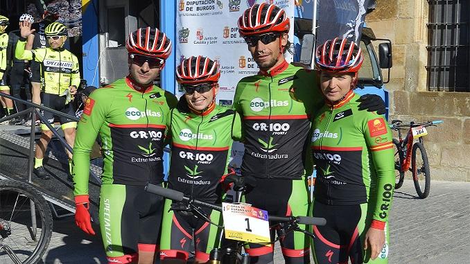 El Extremadura Ecopilas con opciones en el Campeonato de España BTT Maratón