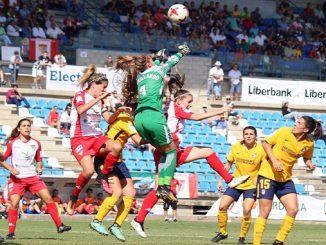 El infortunio arbitral merma al Santa Teresa Badajoz ante el Atlético de Madrid