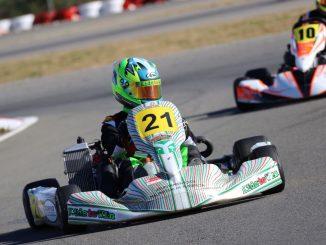 Miguel Grande vencedor del Campeonato de Karting de la Comunidad Valenciana