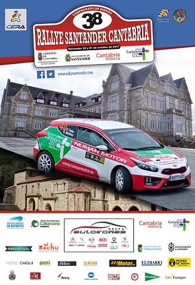Nueva cita para Reyes y Espinar en el nacional de asfalto. Participarán el 38ª Rallye Santander - Cantabria en la Copa Dacia Sandero. Tras su sexto puesto en Llanes.