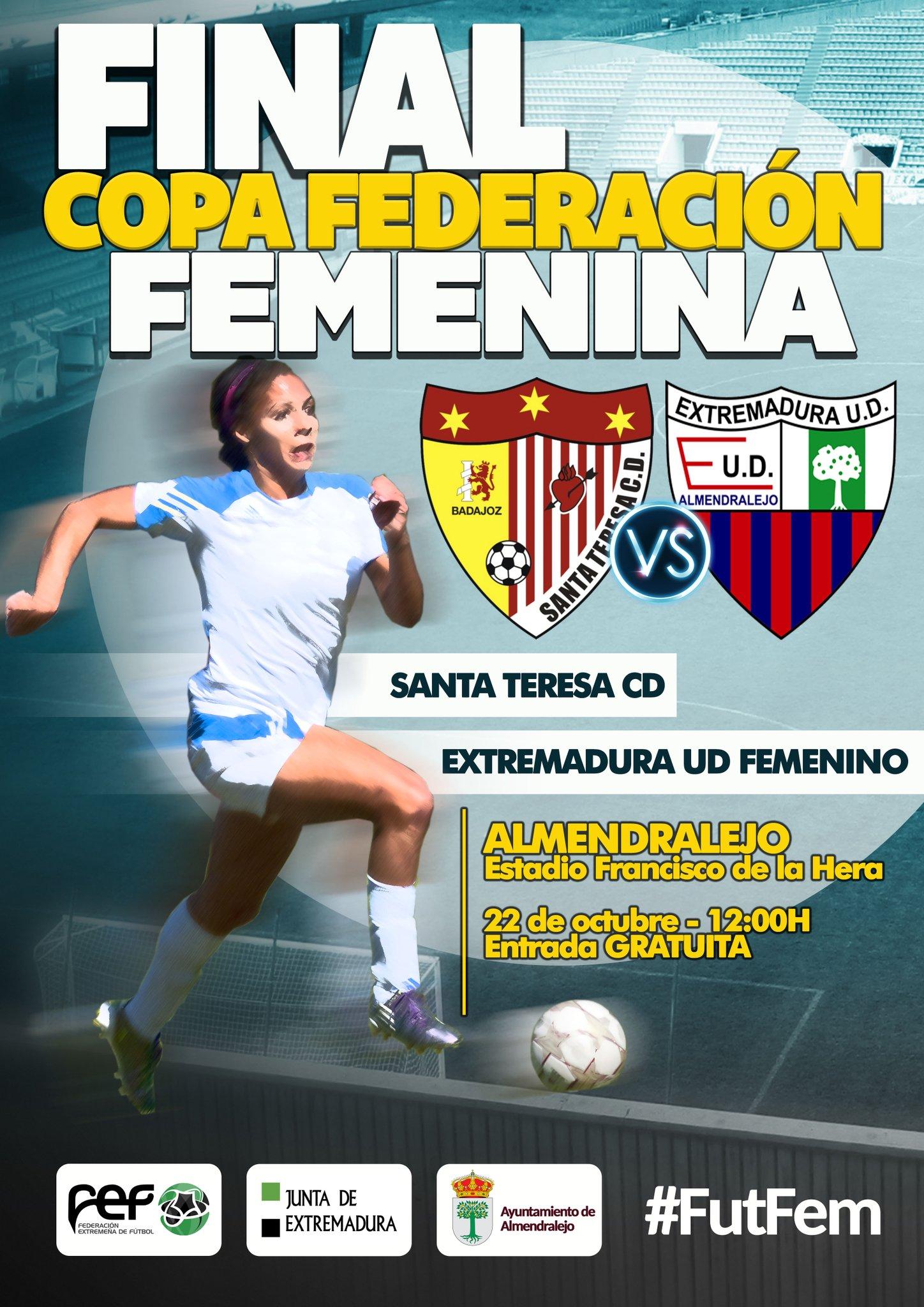 Presentación Copa Federación Extremadura