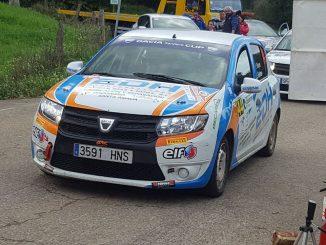 Séptima plaza para Reyes y Espinar el Rallye Santander - Cantabria