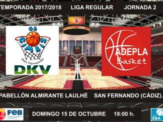 Jaguarzo Adepla Basket buscará su primera victoria en San Fernando