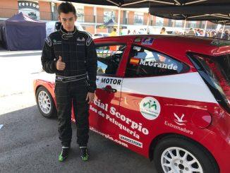 Sexta posición de Miguel Grande en el Trofeo Jarama de Navidad en la clase Kobe