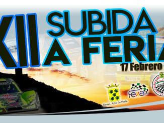 La mítica Subida a Feria regresa al panorama automovilístico extremeño