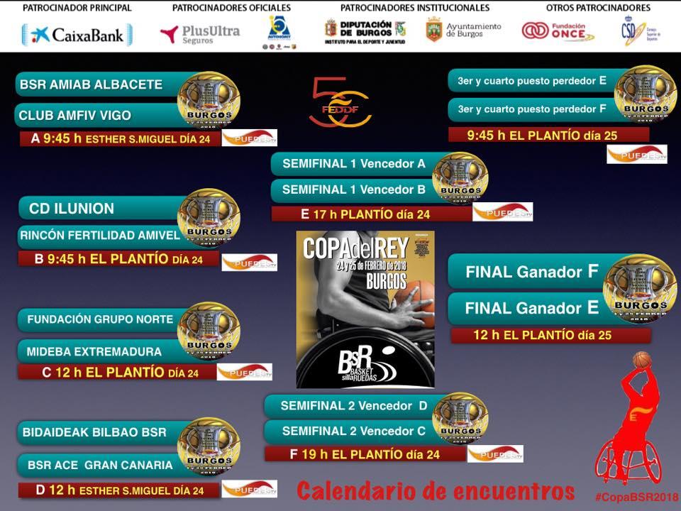 Previa de la XL COPA DEL REY 24 y 25 de febrero en Burgos #CopaBSR2018